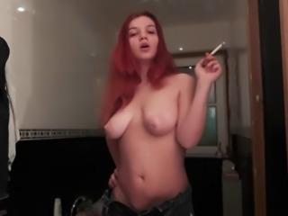 Smoking porno